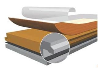 sàn gỗ cong nghiệp