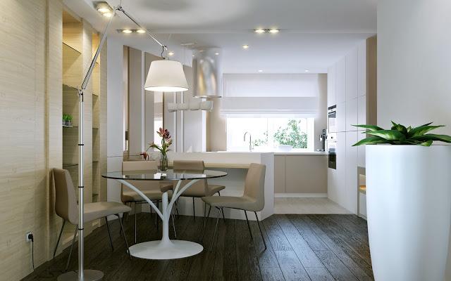 Bàn ghế ăn đẹp cho nhà bếp - Mẫu số 3