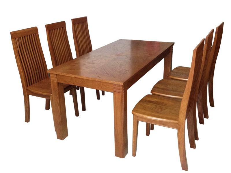 bàn ăn gỗ hiện đại