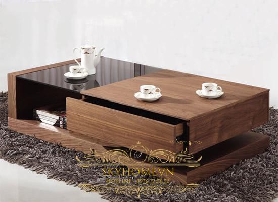 bàn trà gỗ hộp
