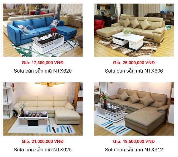 báo giá bàn ghế sofa 1