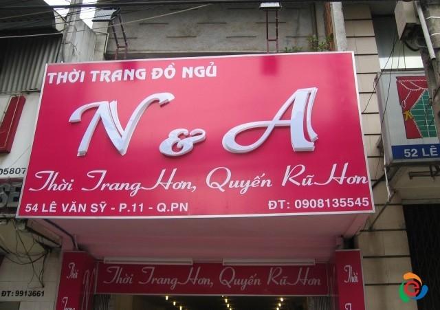 biển quảng cáo shop