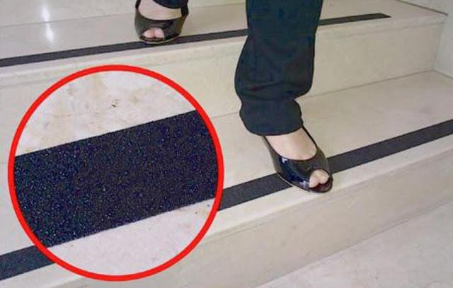 cầu thang chống trượt