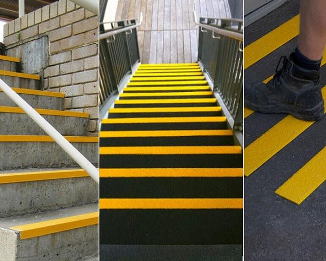 chống trượt cho cầu thang