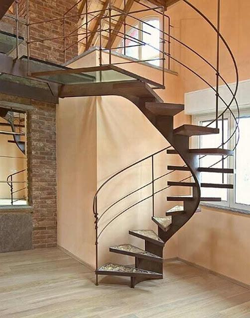 cầu thang cho nhà đẹp - mẫu số 2