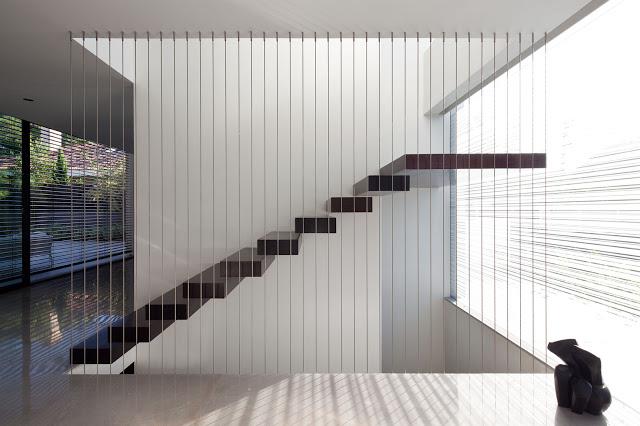thiết kế cầu thang mở- mẫu số 3