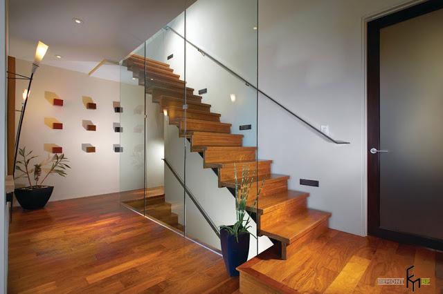 thiết kế cầu thang mở- mẫu số 4