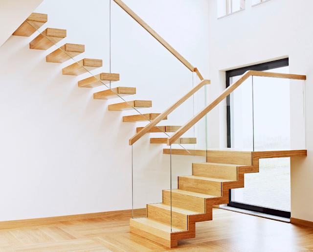 thiết kế cầu thang mở- mẫu số 5