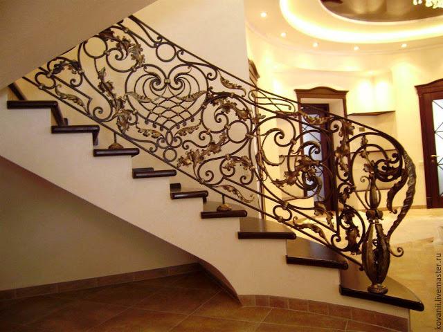 cầu thang nghệ thuật - mẫu số 6