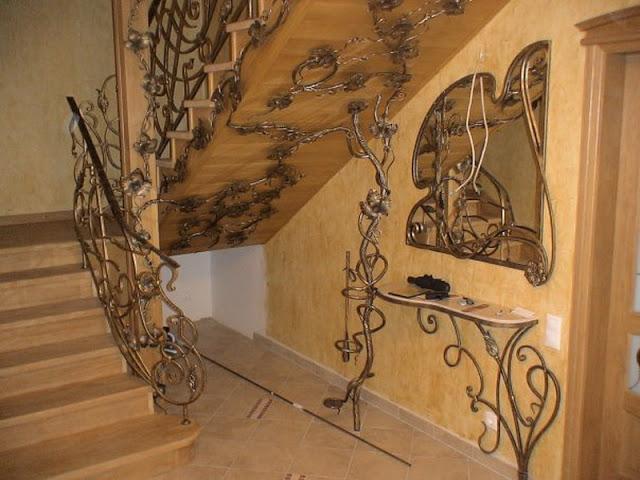 cầu thang nghệ thuật - mẫu số 4