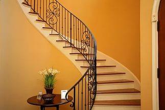 cầu thang bộ thông dụng - mẫu số 2