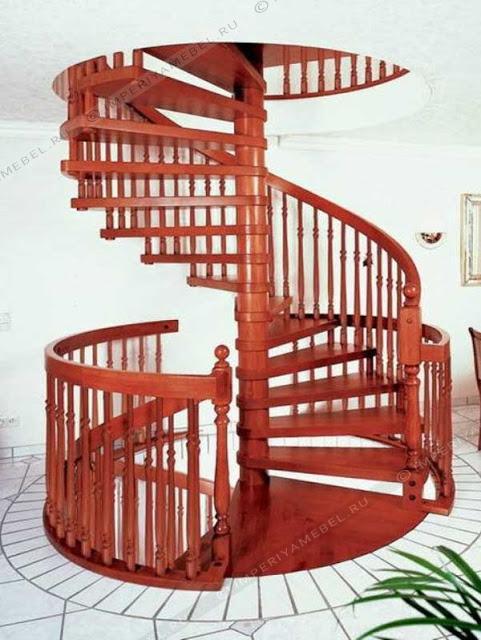cầu thang bộ thông dụng - mẫu số 3