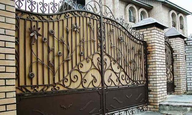 Cổng biệt thự đẹp- Mẫu số 1