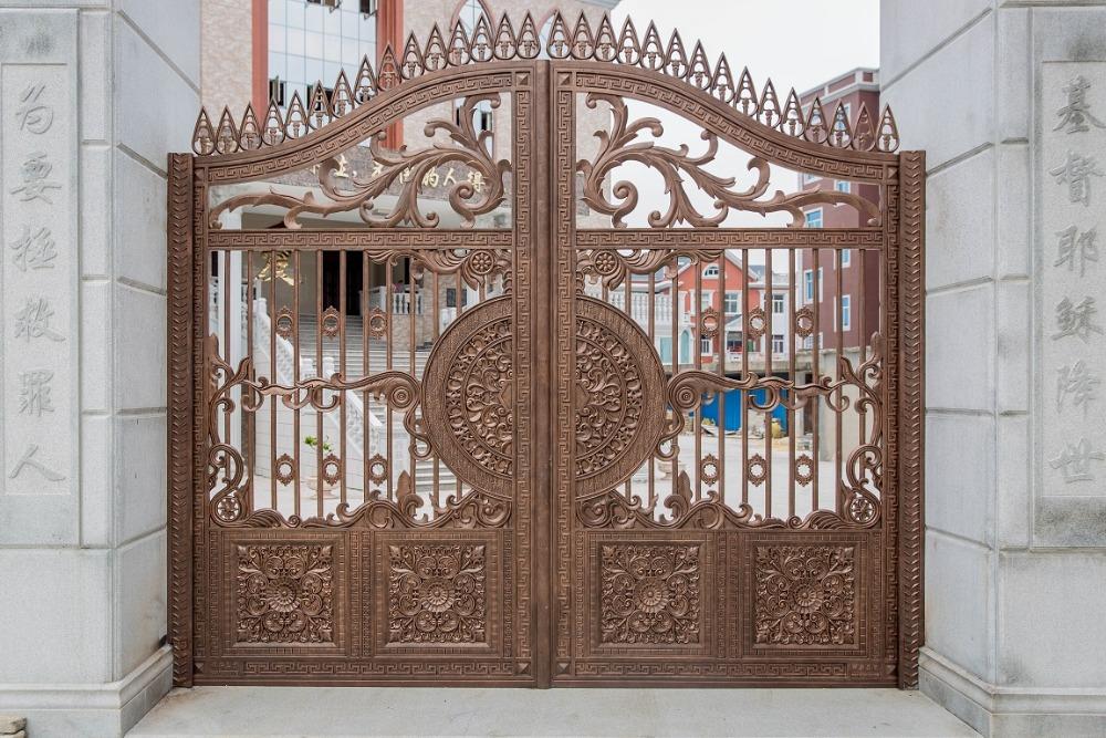 cổng đúc đẹp