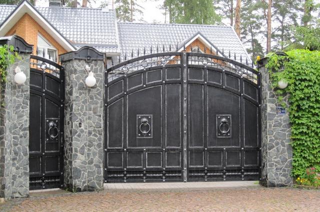 mẫu cổng sắt sơn tĩnh điện