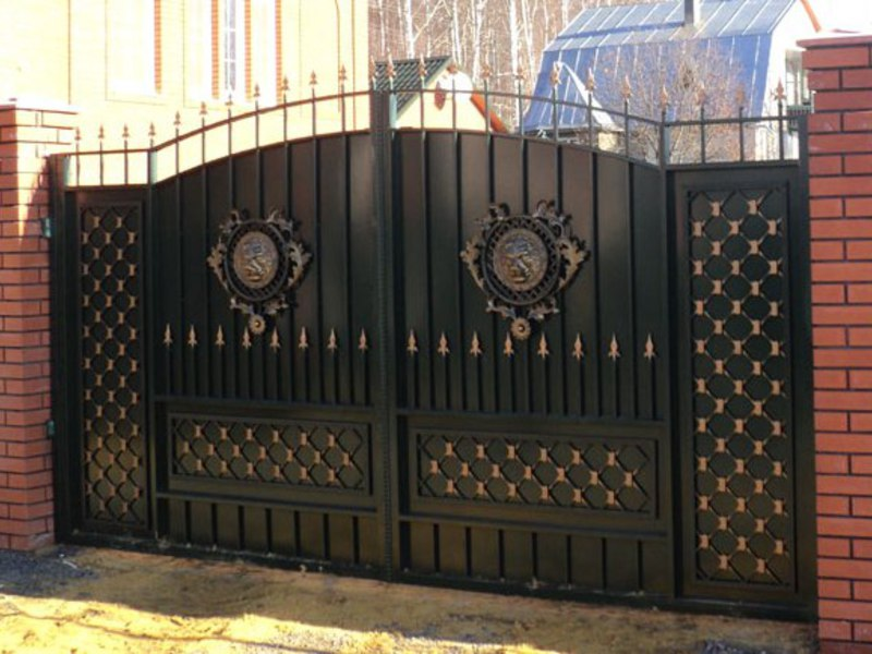 mẫu cổng sắt đẹp nhất