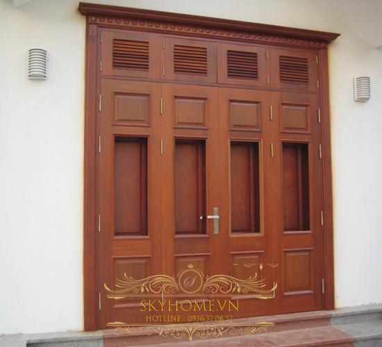 cửa gỗ tự nhiên cao cấp