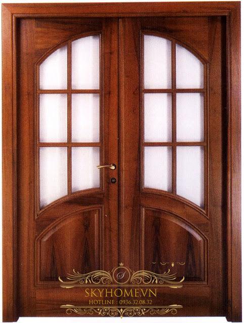 cửa gỗ lim lào -mẫu 2