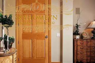 cửa gỗ sồi- mẫu 3