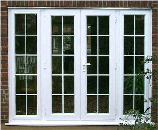 cửa nhôm kính sơn trắng