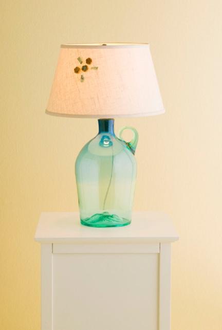đèn từ chai lọ