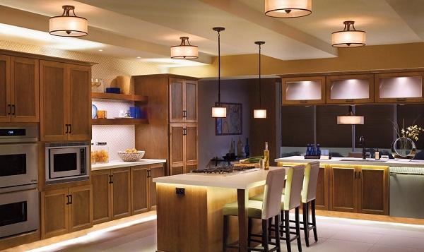 Ánh sáng trong nhà bếp