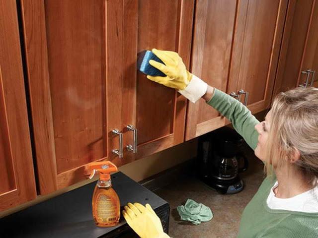 cách vệ sinh nhà bếp