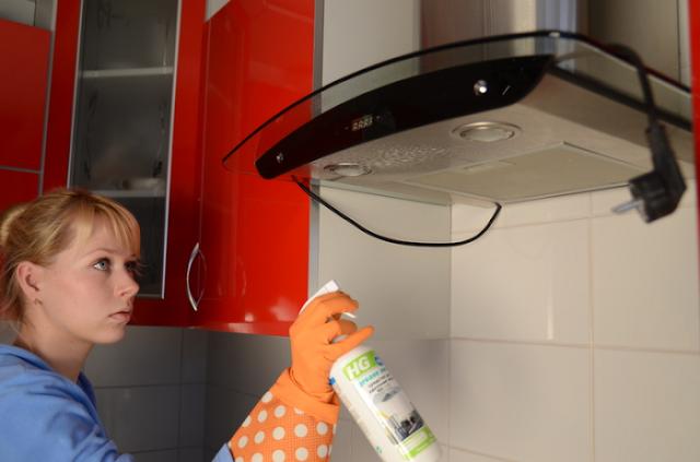 vệ sinh nhà bếp đúng cách