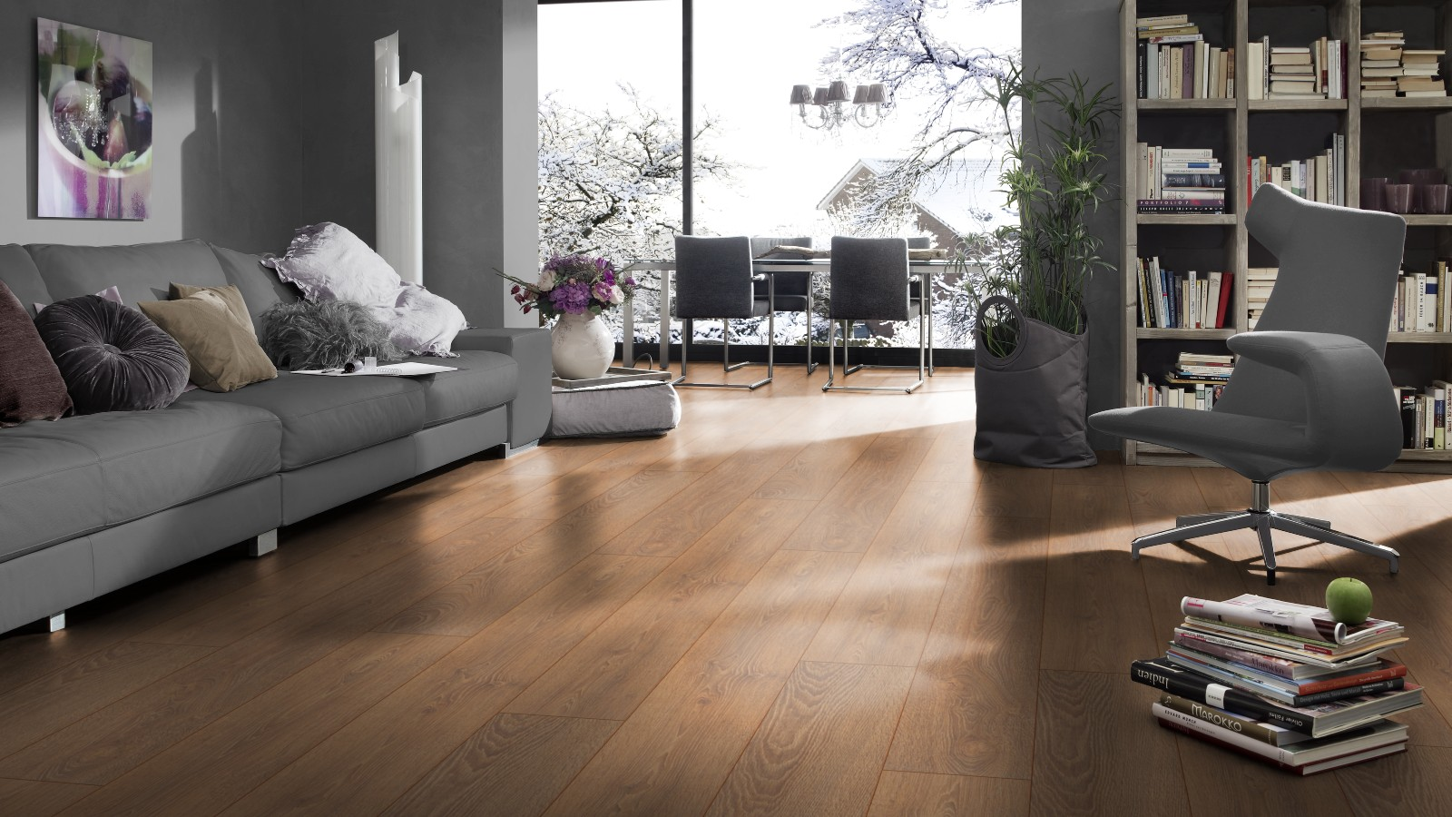 Lắp đặt sàn gỗ cho mùa đông ấm áp