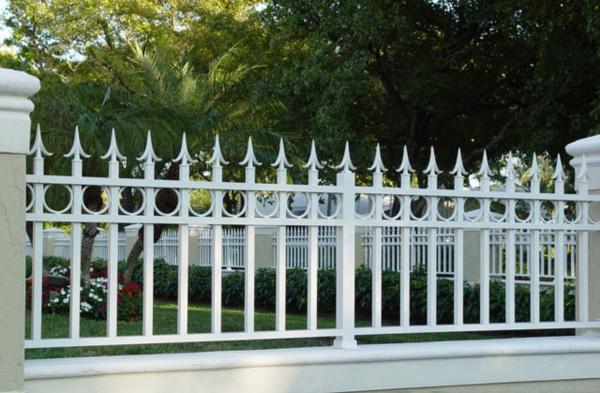 hàng rào sắt mẫu số 1
