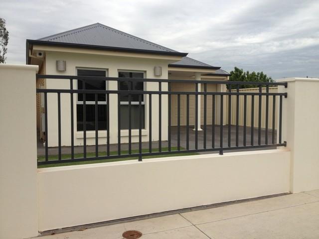 hàng rào sắt mẫu số 4