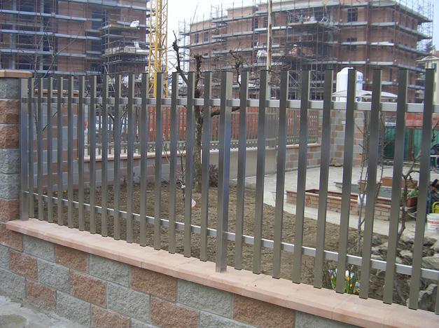 hàng rào inox mẫu 2