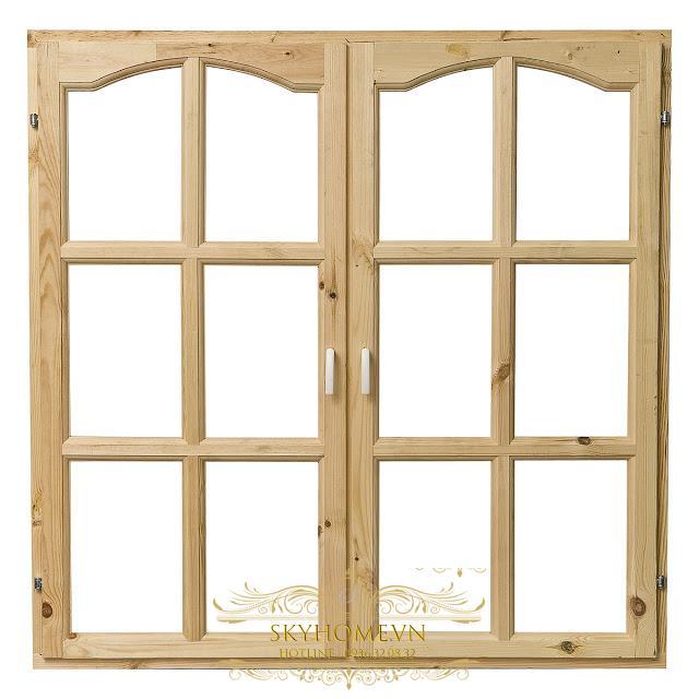 khung cửa gỗ