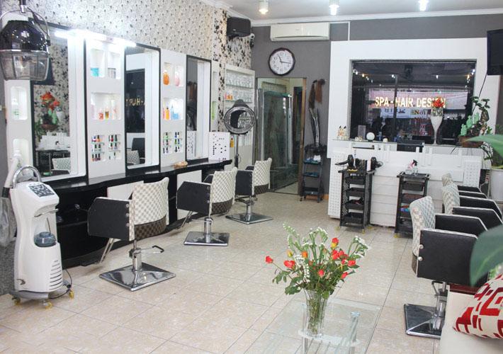 Thiết kế tiệm tóc nhỏ đẹp