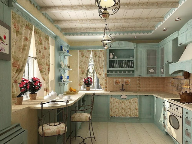 nhà bếp đẹp theo phong thủy