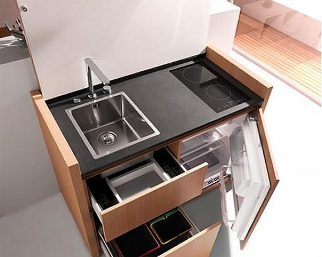 Tủ bếp thông minh - Mẫu số 1