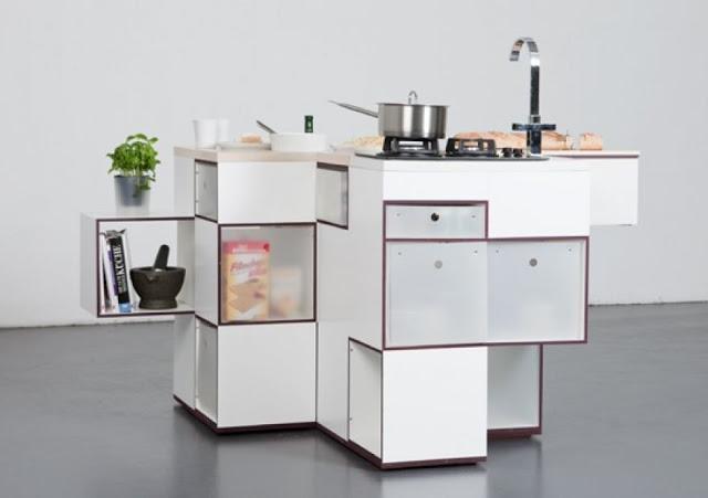 Tủ bếp thông minh - Mẫu số 3
