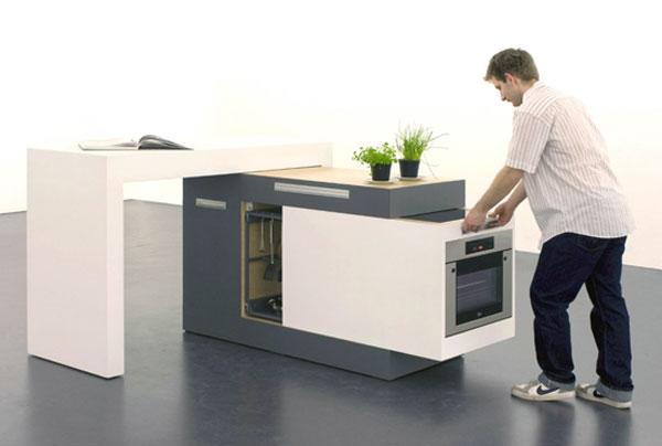 Tủ bếp thông minh - Mẫu số 4