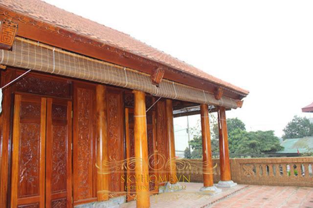 Nhà gỗ đẹp - mẫu số 11