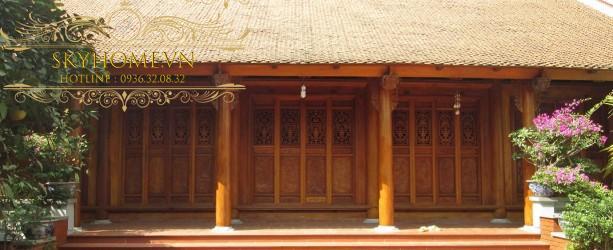 Nhà gỗ đẹp - mẫu số 3