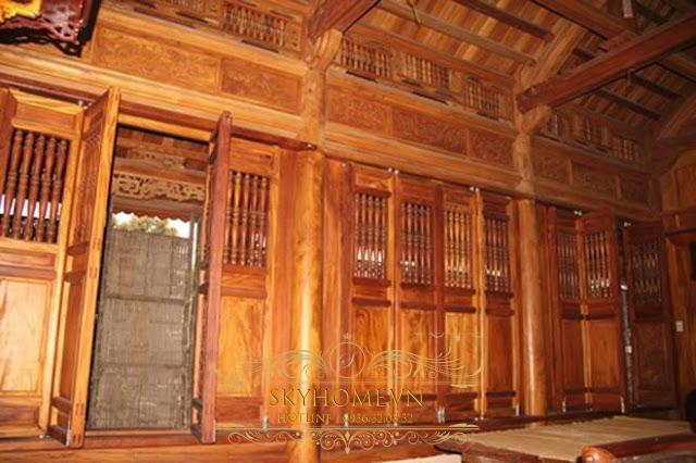 Nhà gỗ đẹp - mẫu số 6