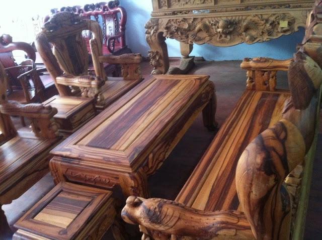 bàn ghế gỗ cẩm