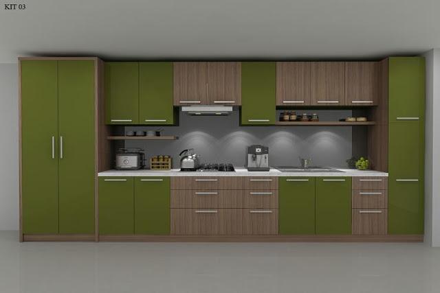 tủ bếp gỗ dương