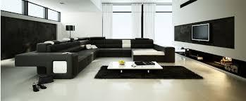 đen trắng trong phòng khách