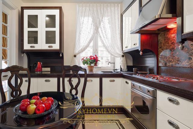 tủ bếp đẹp - mẫu số 4