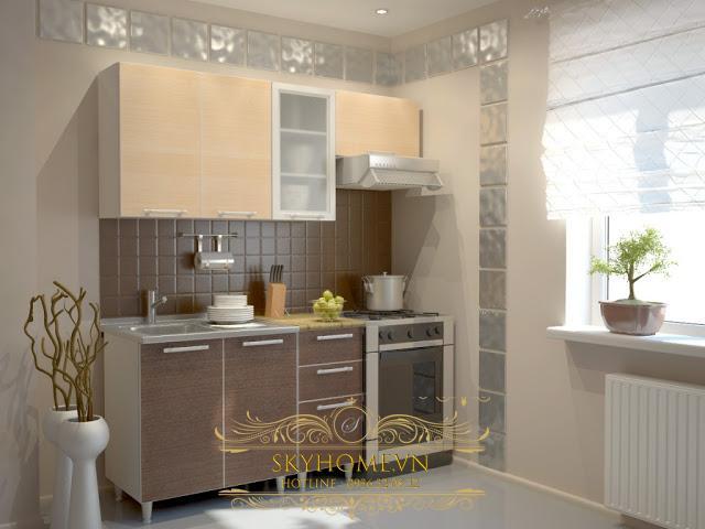 nội thất nhà bếp nhỏ- mẫu số 1