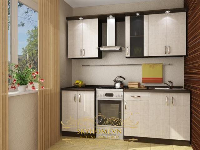 nội thất nhà bếp nhỏ- mẫu số 2