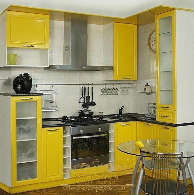 nội thất nhà bếp nhỏ- mẫu số 3