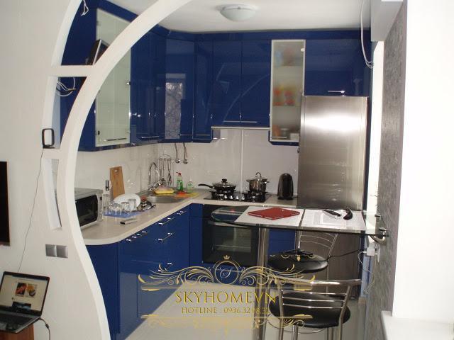 nội thất nhà bếp nhỏ- mẫu số 4