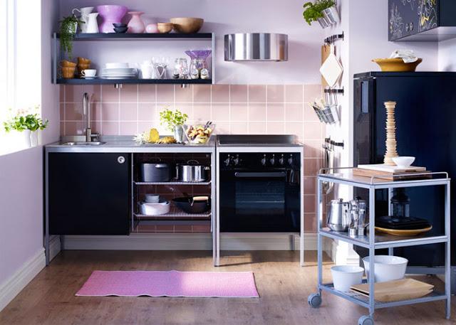 nội thất nhà bếp nhỏ- mẫu số 5